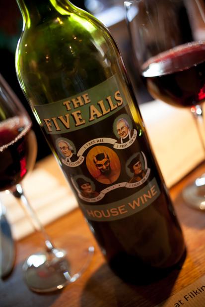 The Five Alls Wine