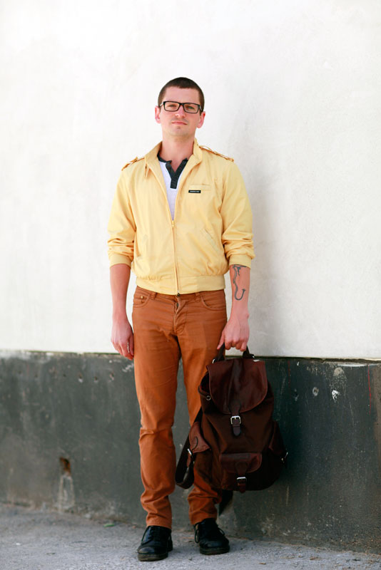 yellow_rust street style, street fashion, men, Valencia Street, San Francisco