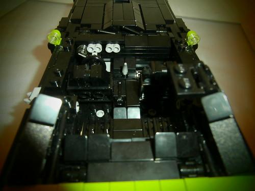 LEGO 1970 Plymouth AAR Cuda Interior