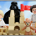 Skywalker Family Fun - Building a Sand Castle with Dad (who doesn't like sand) by DigiNik13