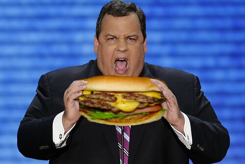 Chris Christie, Governor of New Jersey by HitAndRun
