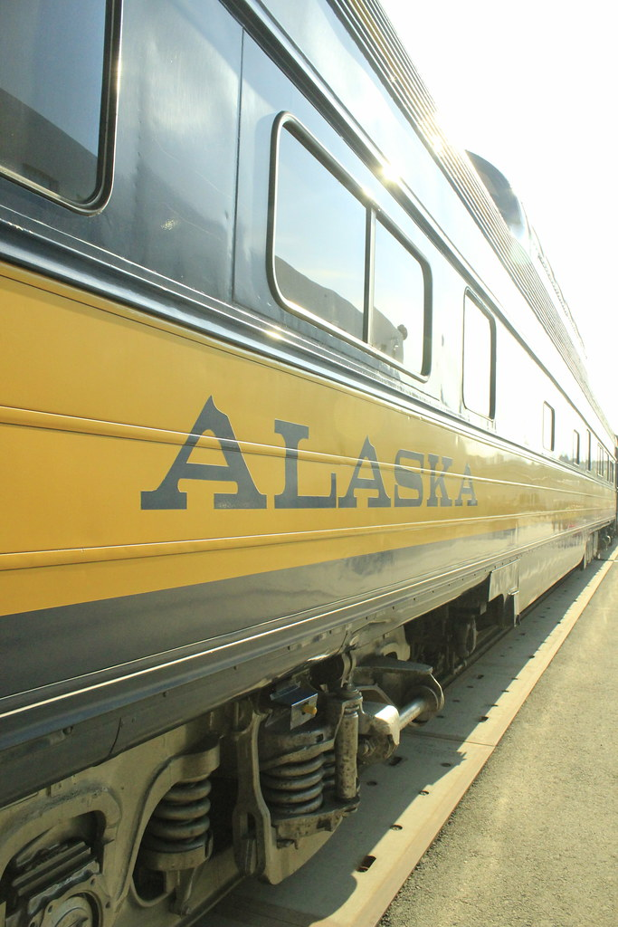 All Aboard!! Train Travel in Alaska