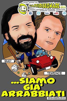 Bud Spencer & Terence Hill ALTRIMENTI CI ARRABBIAMO by Giuseppe Lombardi
