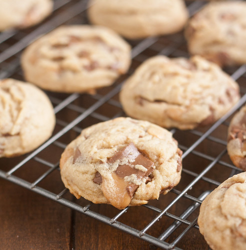 Peanut Butter Rolo Cookies