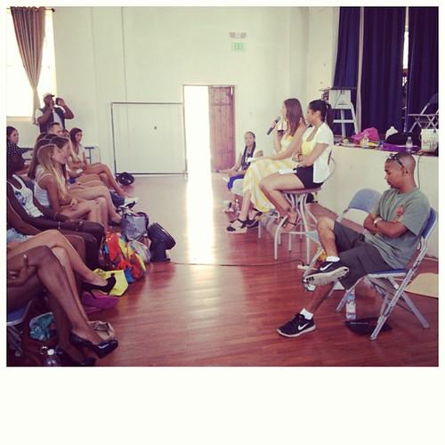 Model Workshop with guest speaker Leah Hibbert #EliteLondon Lead Scout  #evolution #cityfashionfestival #behindtherunway