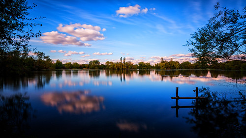 park wood family blue trees sunset summer england cloud white lake black reflection tree green water june clouds canon woodland paul photography eos photo bush day branch post bright unitedkingdom walk branches horizon meadows sunny bushes essex loughton shimmer 2012 ef1740mmf4lusm chigwell rodingvalley ef1740mm buckhursthill metalposts canoneos5dmarkiii 5dmarkiii 25june2012 paulshears paulshearsphotography chigwellmeadows pwpartlycloudy