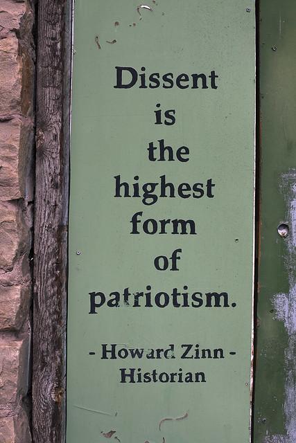 Dissent Is Patriotic Quote