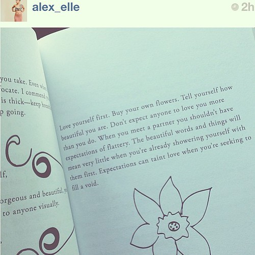 Repost @alex_elle I've gotta get this book. #loveyourself #wordsfromawanderer