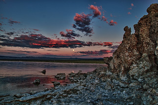 Full Moon at Mono Lake, CA