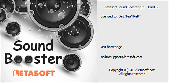 Letasoft Sound Booster 1.1 Build 88