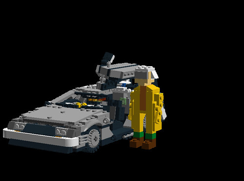 Delorean DMC-12 Time Machine and Doc