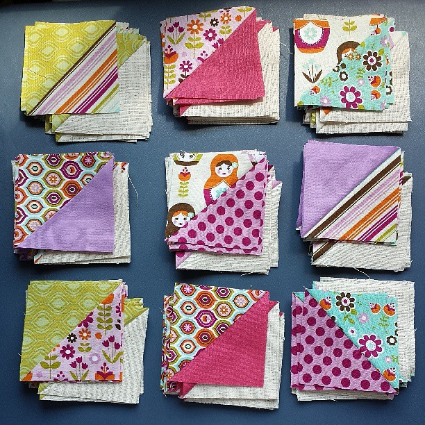 Happy Quilting Star Surround QAL ~ Week 2 done