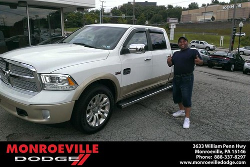 Thank you to Robert Mitchell on the 2013 Dodge Ram  from Eldred Obodai and everyone at Monroeville Dodge! by Monroeville Dodge
