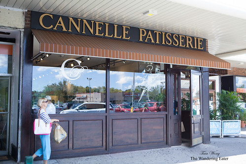 Exterior of Cannelle Patisserie