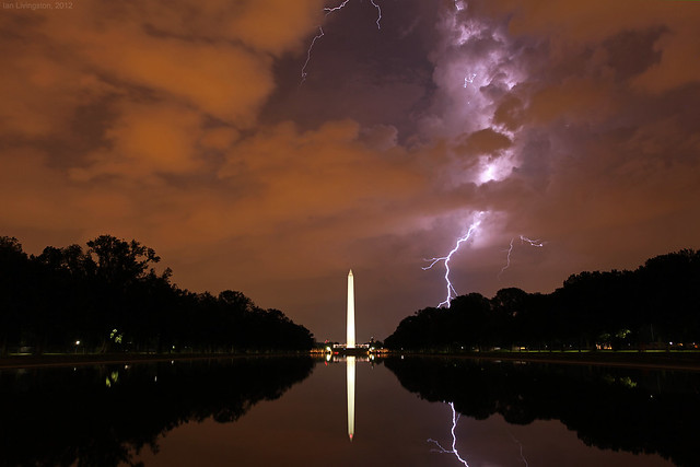 Lightning over the National Mall