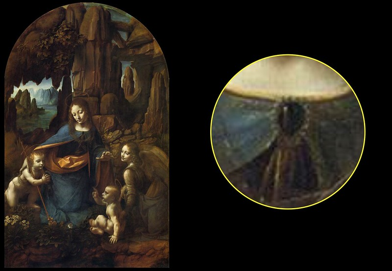 Da Vinci, and Translucencies | art.mirrors.art Da Vinci Paintings Mirrored