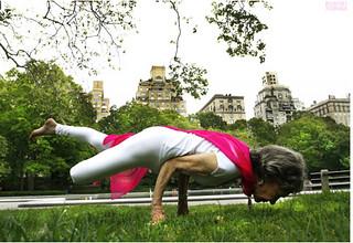95 year old yoga teacher