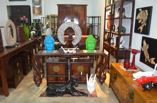 antique furniture - red house carved furniture company
