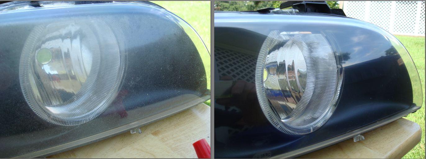Oxidized Headlight Option On Facelift E39