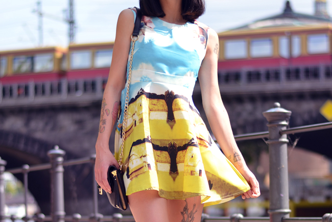 Chicwish dress Berlin Mitte Outfit 1