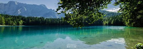 panorama lake water lago panoramic friuli fusine tarvisio