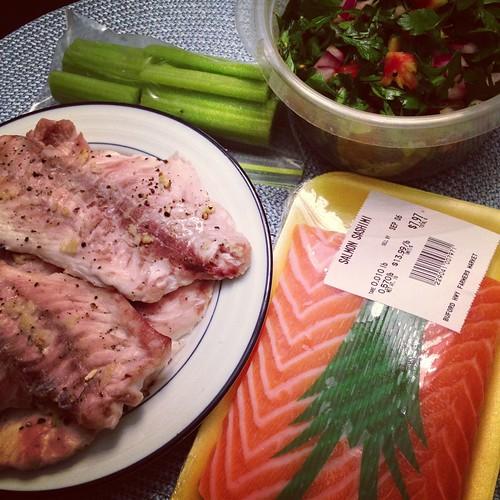 Seafood food prep