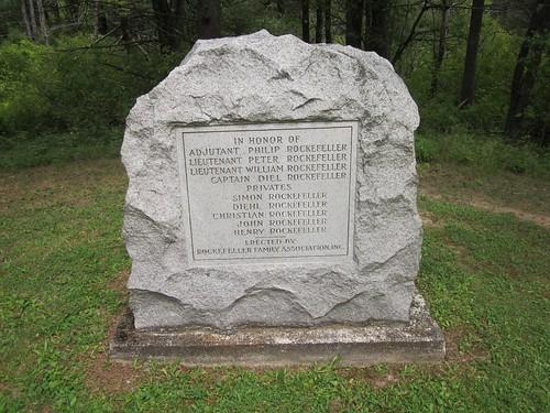 Saratoga NHP: Rockefeller Monument