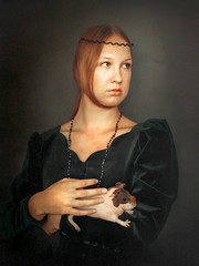 The Lady with a Guinea pig