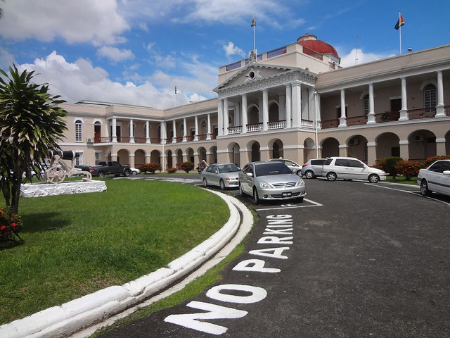 Parlamento em Georgetown