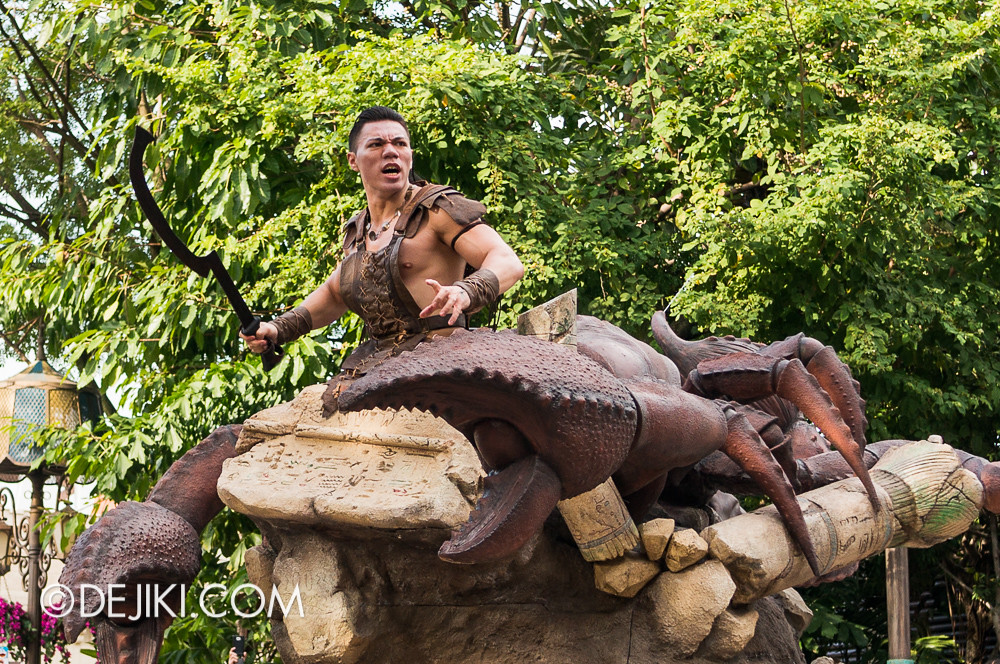 Universal Studios Singapore - Hollywood Dreams Parade - Ancient Egypt - Scorpion King