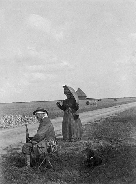 Monsieur Masson assis à la chasse, 1894