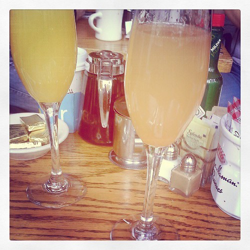 Mimosas with Laura!