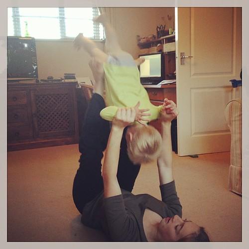 Gymnastics for him too then?