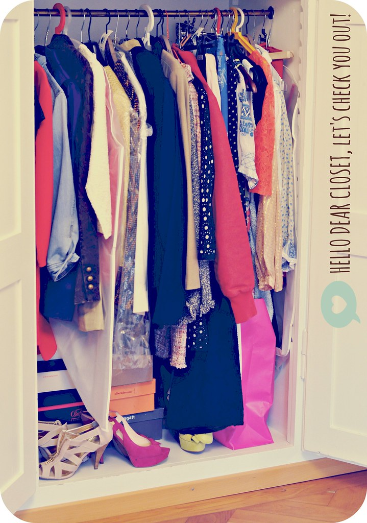 Hello dear closet let's check you out