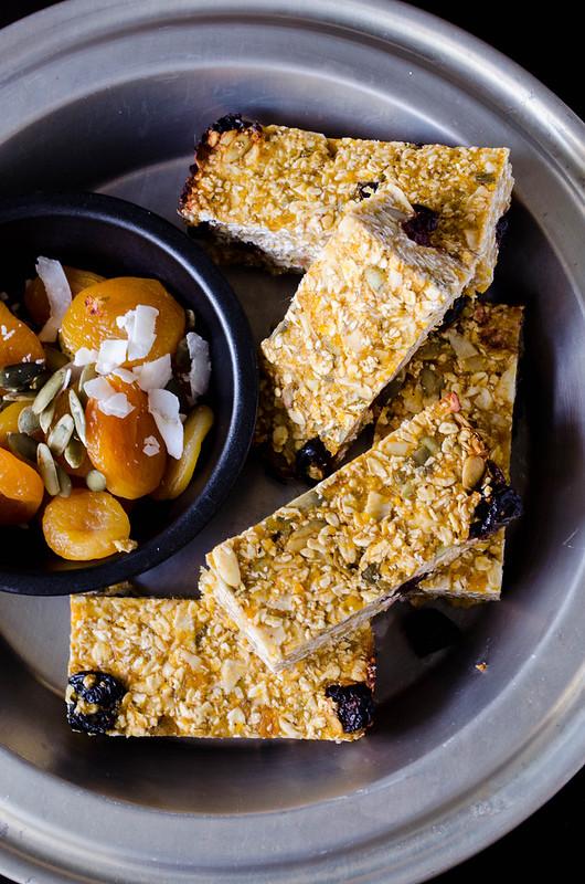 Apricot Granola Bars (Gluten Free)