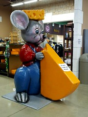 Mars Cheese Castle mouse