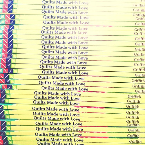this just in: a whole stack of awesome!!! if you preordered a signed copy, it will be in the mail by friday!!! #quiltsmadewithlove