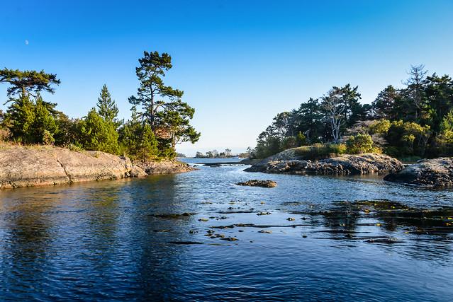 Chatham Islands in the Strait of Juan de Fuca British Columbia Canada