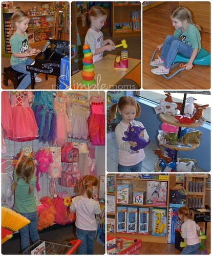 Brilliant Sky Toys and Books playtime collage