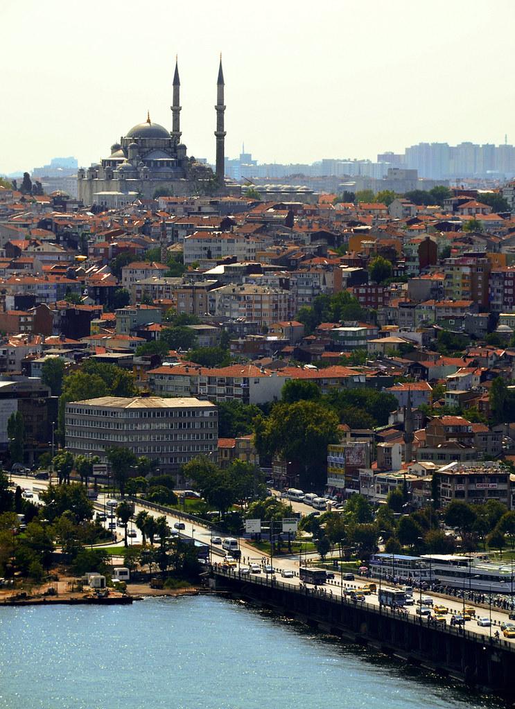 Vistas del Bósforo desde la Torre Galata