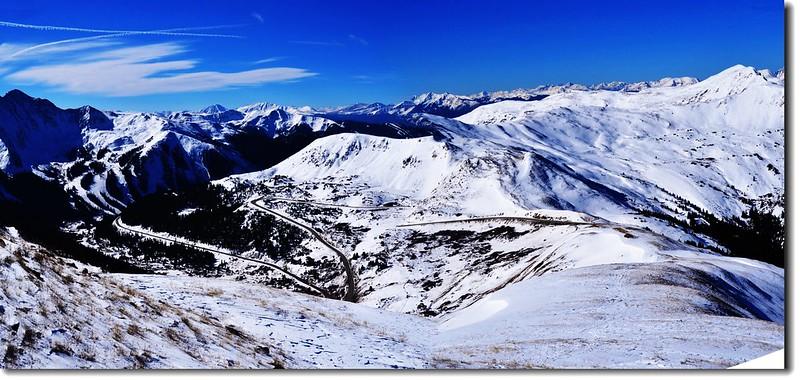 Loveland Pass  遠眺南、西、北向 2
