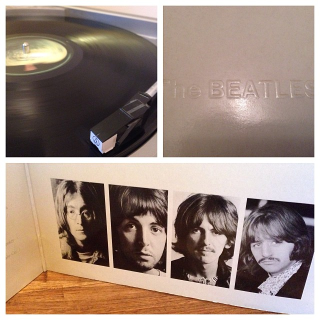 "021113_ #np ""The White Album"" by The Beatles #vinyl"