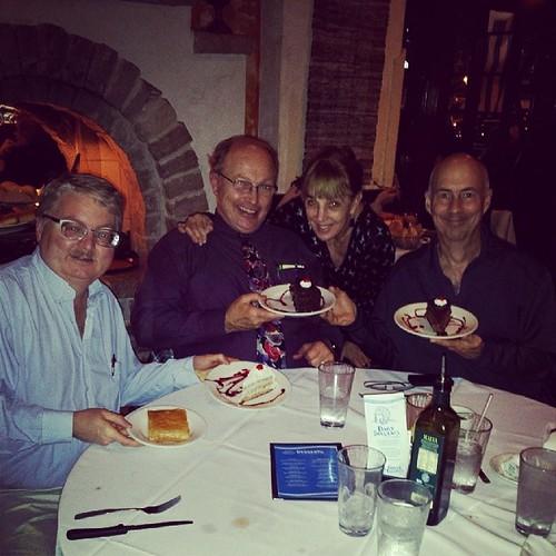 A fabulous Greek dinner  @hawesrdh Gene and Beth Pokorny