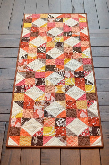 fall table runner Kitchen Table Quilting