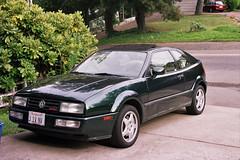 VW Corrado, 1993, VR6, from left fore corner,.