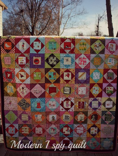 I Spy Quilt by Fitri D. // Rumah Manis