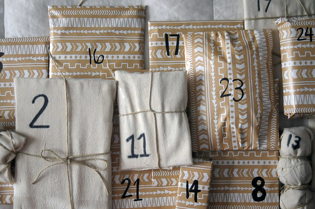 Handmade Activity Advent Calendar - DIY - Kaelah Bee