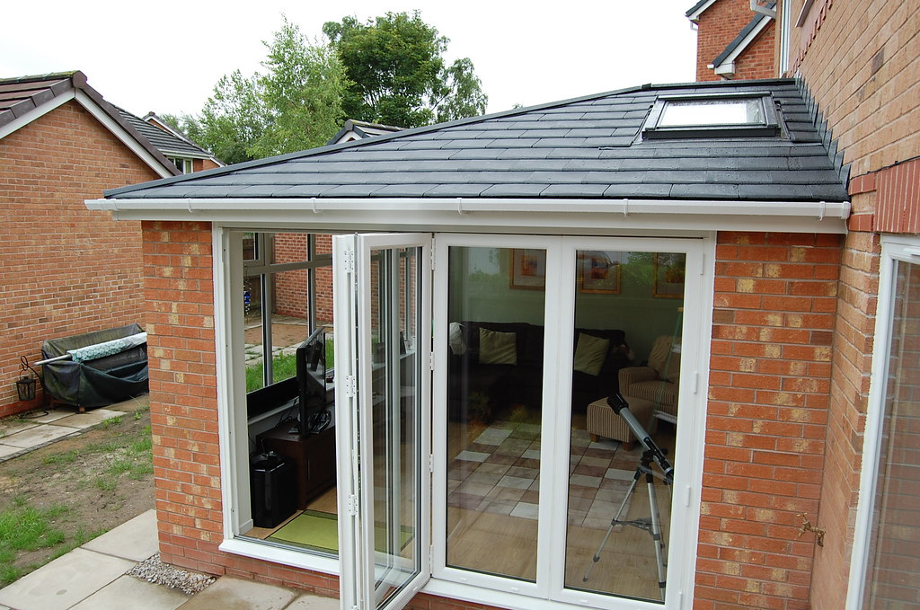 New conservatory roof admiral homespace for Garden conversion