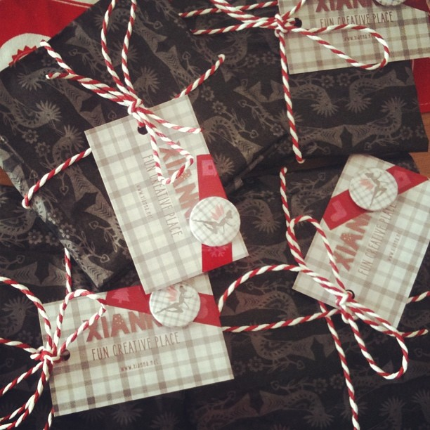 Xianna christmas packaging