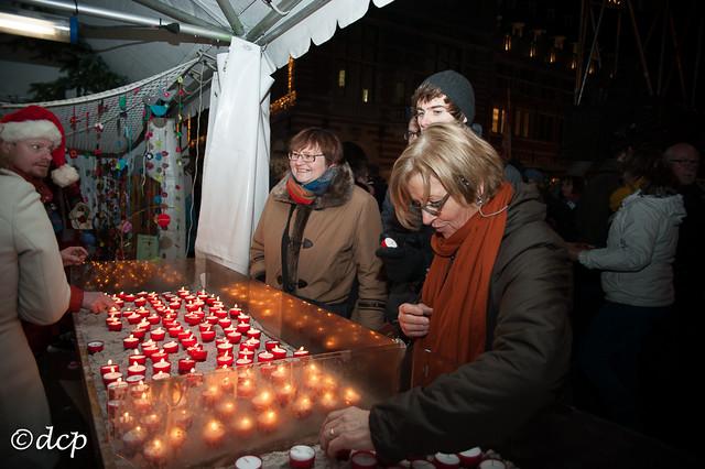 Kerstmarkt Leuven 2013: opening